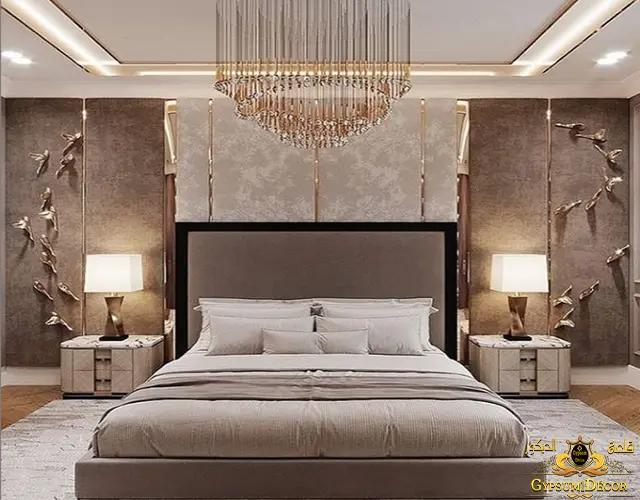 قلعة الديكور جبس بورد غرف نوم 2021