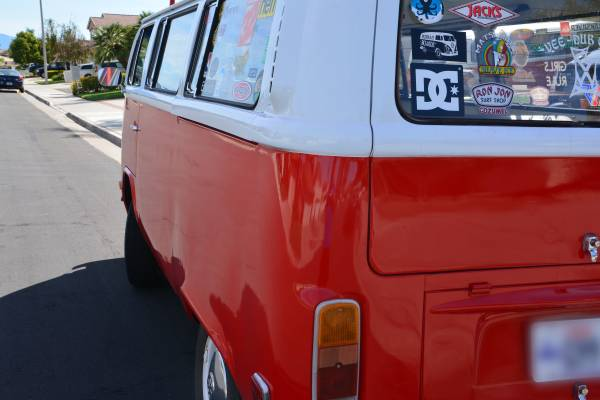1974 Vw Bus With Roof Rack Ready To Go Surfing Vw Bus