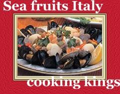 Sea fruits Italy