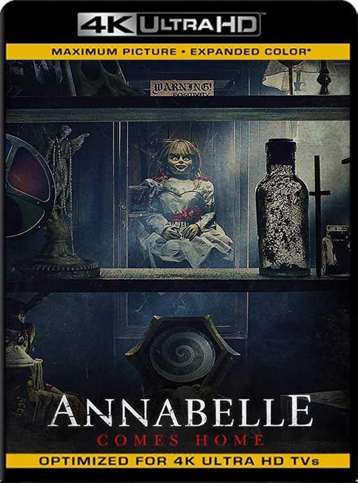 Annabelle 3: Viene a Casa (2019) 4K 2160p UHD [HDR] Latino [GoogleDrive]