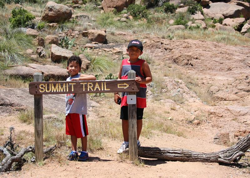 Summit Trail Enchanted Rock