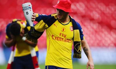 Baru Kembali ke Skuad Arsenal, Wilshere Malah bentrok di Klub malam