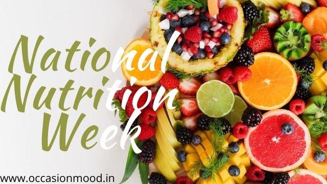 National Nutrition Week 2020