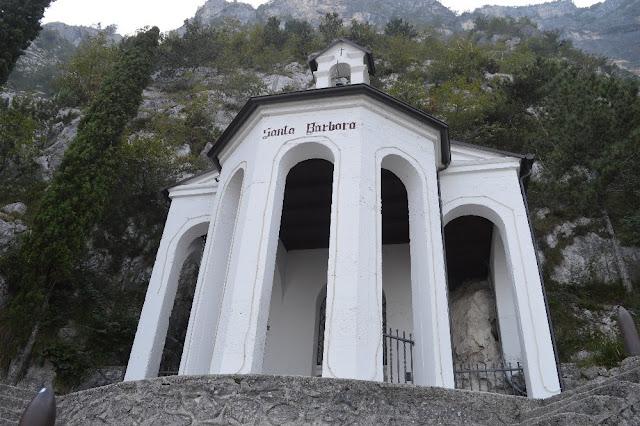bastione riva del garda chiesetta santa barbara
