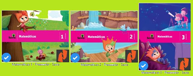Cuadernillo de actividades Matemáticas para Preescolar