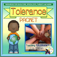 A tolerance teaching packet with printables, worksheets, and posters