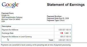Google Adsense Payment Receive-Foreign Countries