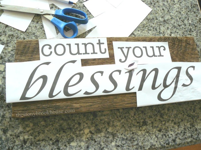 Count Your Blessings Transfer