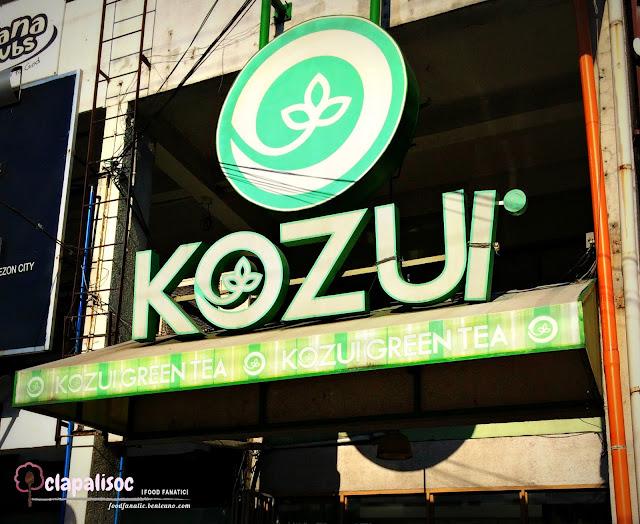 Kozui Green Tea Tomas Morato