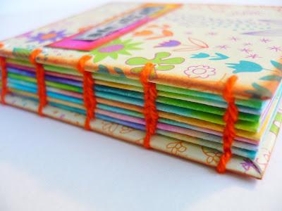 Oops I Craft My Pants Big Ideas Colorful Coptic Stitch