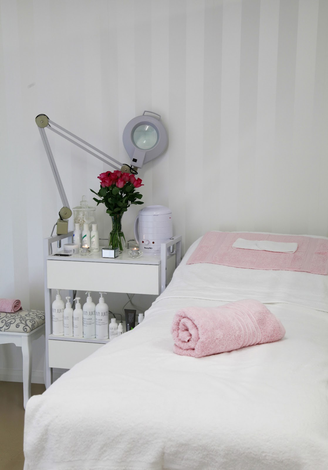 Home Spa Design Ideas: Pure Elegance - From Garage To Beauty Room