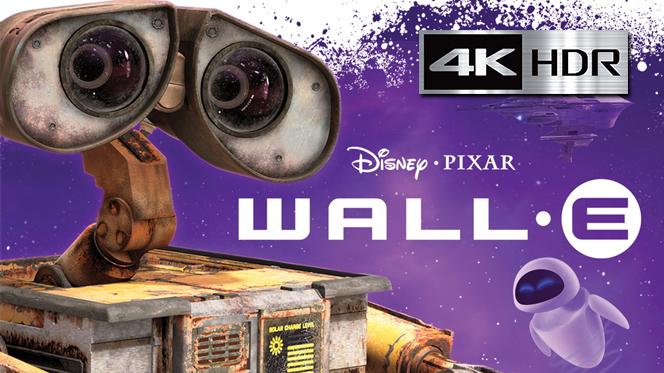 WALL·E (2008) 4K UHD [HDR] Latino-Castellano-Ingles