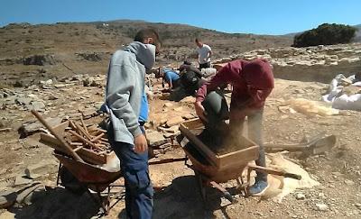 Ανασκαφή Στρόφιλα Άνδρου