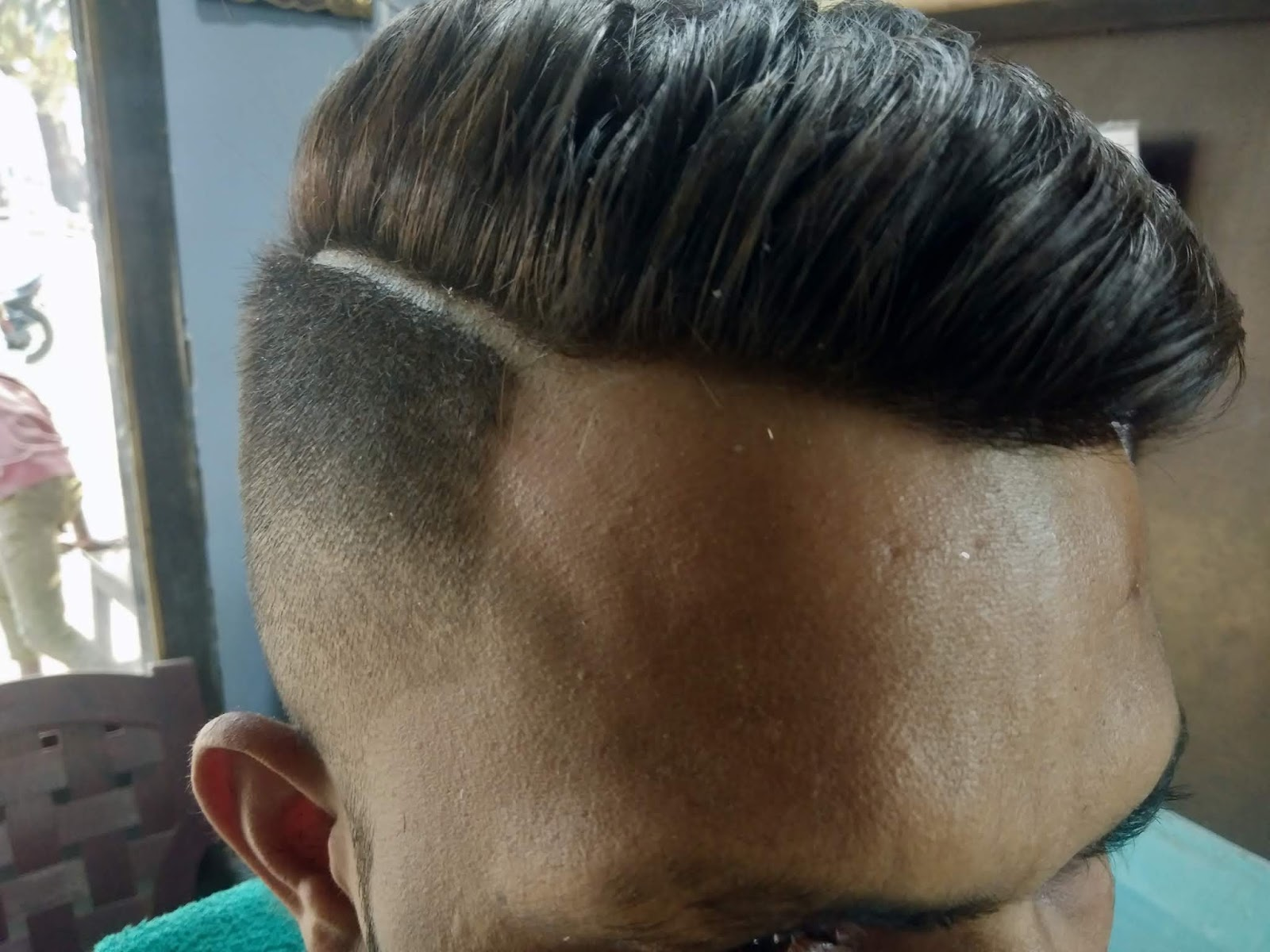 One Side Hair Cutting Haircut Men S वन स ईड ह य कट ग