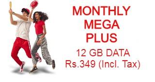 Jazz Monthly Mega Plus Internet Packages - Jazz Bundles