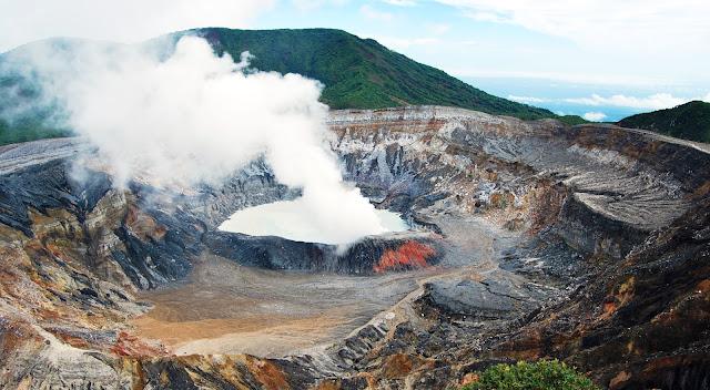 Volcán Poás en Costa Rica
