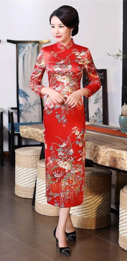 Cheap Cheongsam Qipao Dresses For Women