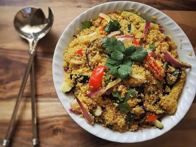 quinoa plat - weight-loss meal