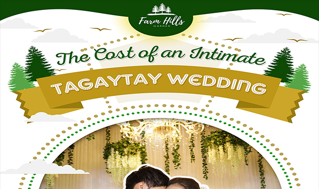 The Cost of an Intimate Tagaytay Wedding #