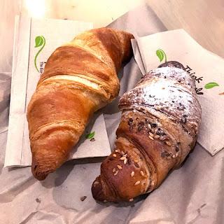Vegan croissants Cafe Torino