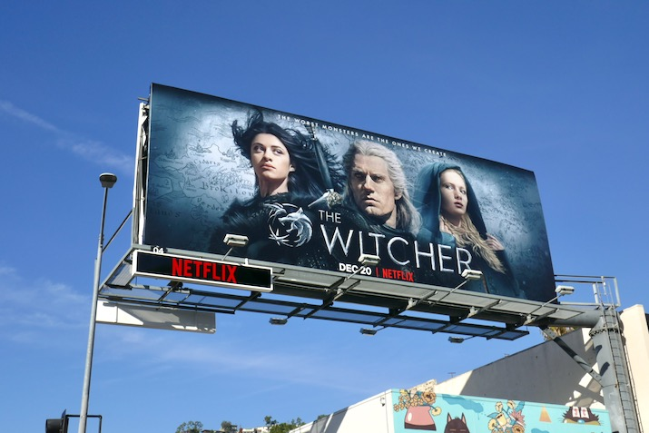 Witcher season 1 billboard