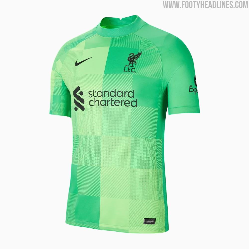 Liverpool 21-22 Home, Away, Third & Goalkeeper Kits - Footy Headlines