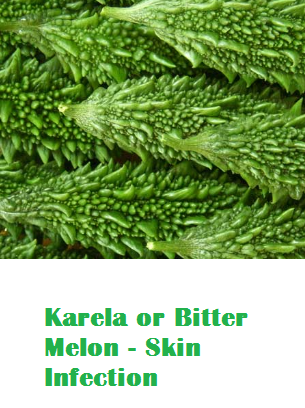 Health Benefits Of Karela or Bitter Melon - Skin Infection