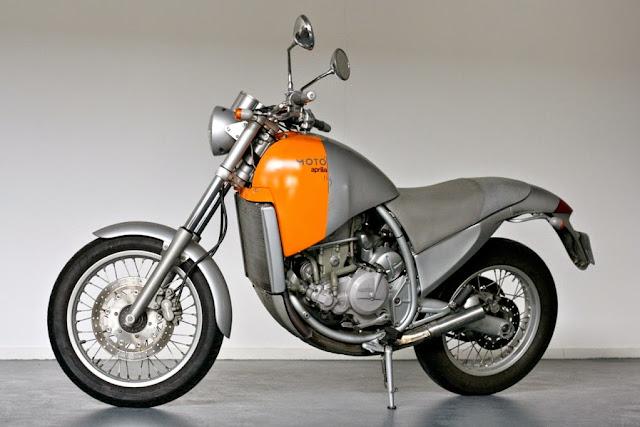 Aprilia Moto Starck 01 - As novas clássicas...