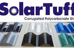Harga Genteng Atap Polycarbonate Solartuff di Malang