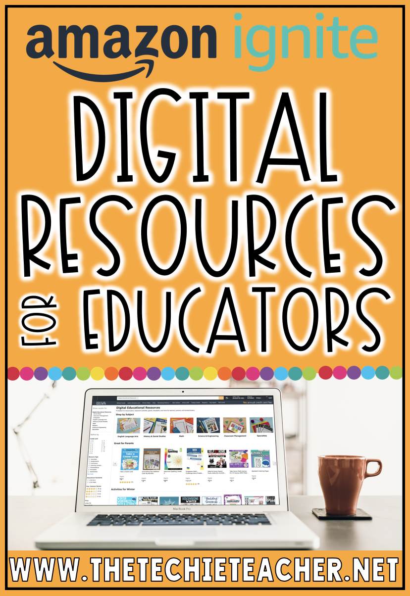 Amazon Launches Digital Resources for Educators