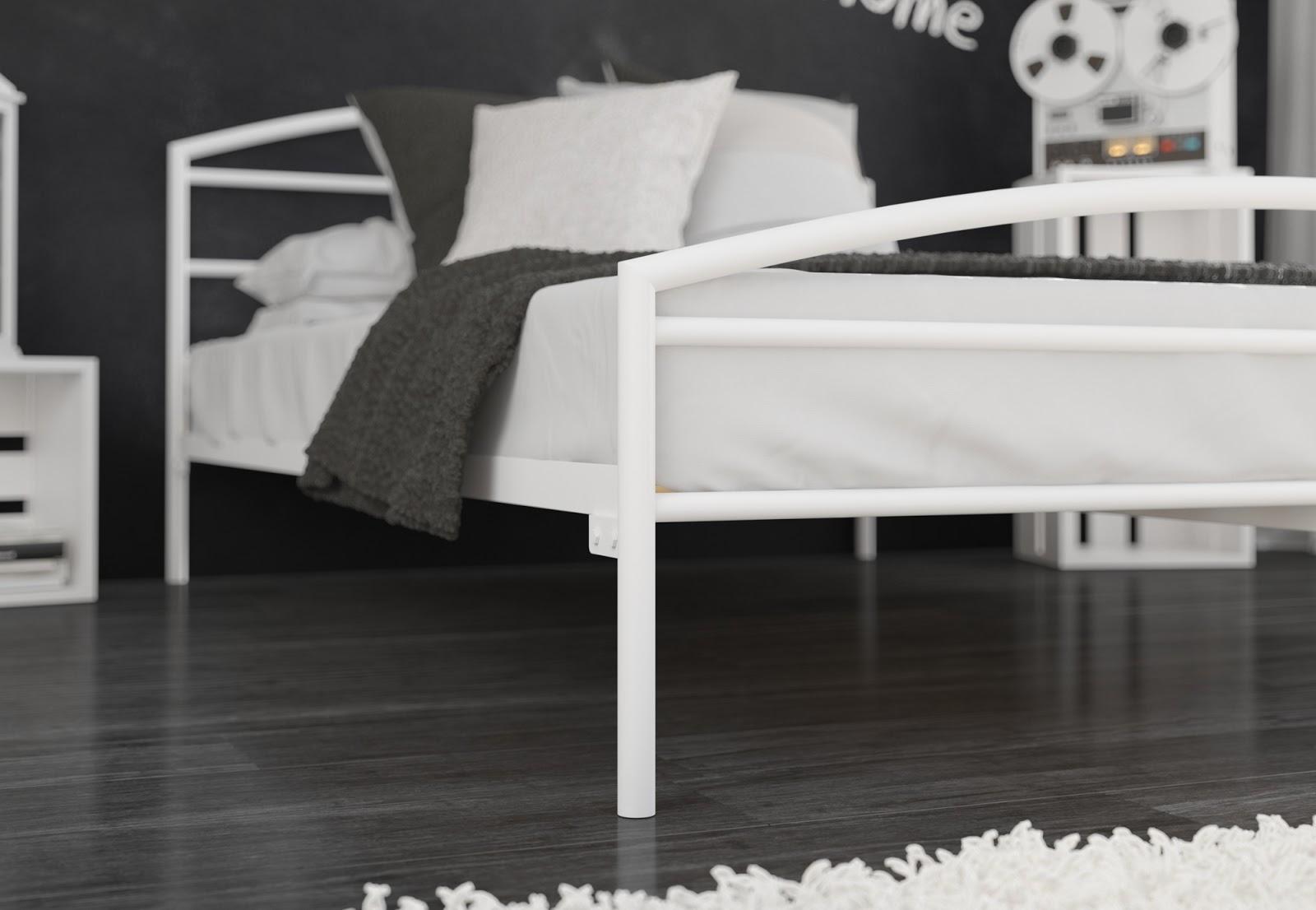 Łóżko metalowe wzór 19