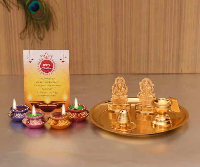 Pooja Thali Set diwali gifts