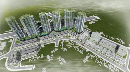 X2 Đại Kim có quy mô lớn, thiết kế hiện đại với 3 tòa nhà cao 28 tầng nổi, 3 tầng hầm