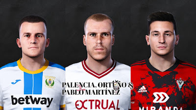 PES 2021 Facepack La Liga SmartBank Vol 15 by Dani