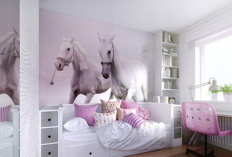Dormitorios juveniles con murales dormitorios colores y - Habitaciones decoradas juveniles ...