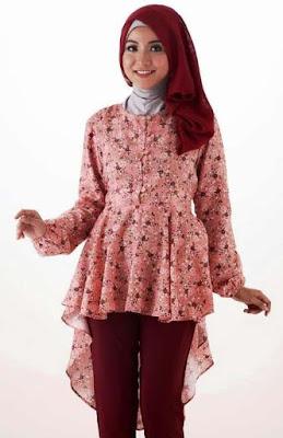 Desain Baju Batik Modern Casual Remaja
