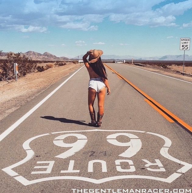 Hd Wallpapers Cars Mustang Car Girls Route 66 Summer Road Trip Thegentlemanracer Com