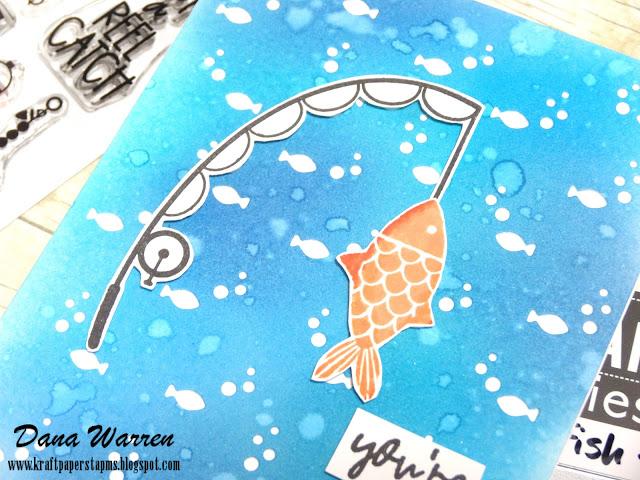 Dana Warren - Kraft Paper Stamps - Catherine Pooler