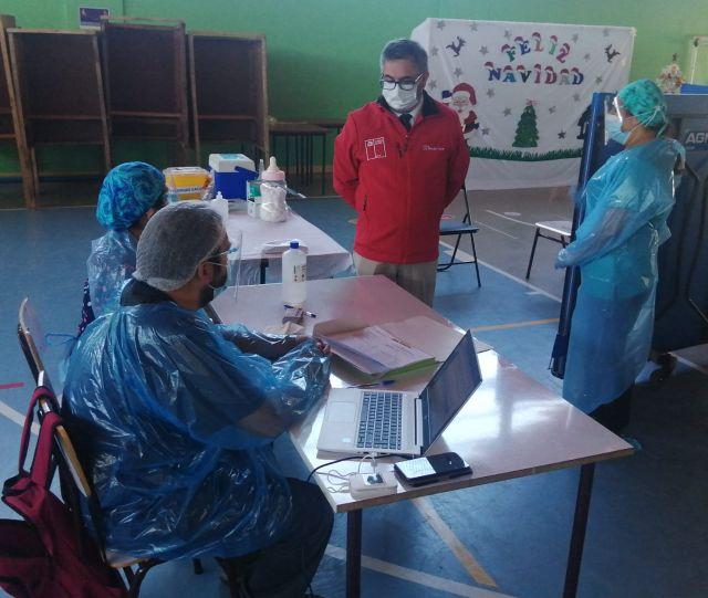 Vacunación en Chile