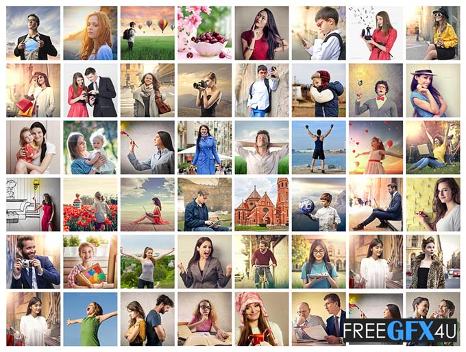 Collage Photo Display Action V1 Pack