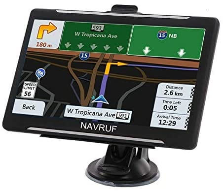 LONGRUF 7 Inch Touch Screen Vehicle GPS Navigation