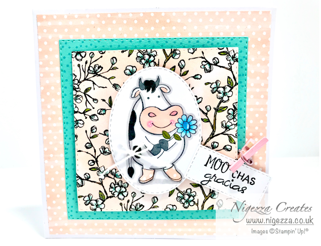 Nigezza Creates with friends from Stampin' Up! Over the moon
