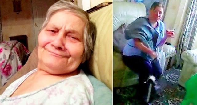"""""""Ты урод"""". В Москве сиделка избила 90-летнюю бабушку за то, что та не хотела спать — видео"""