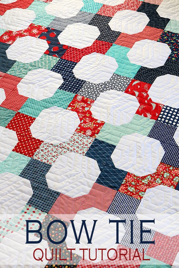 A Bright Corner Second Look Sunday Bow Tie Quilt Pattern