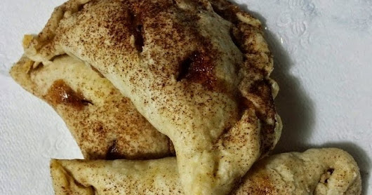 From scratch apple pie turnovers-great for a seasonal classroom snack