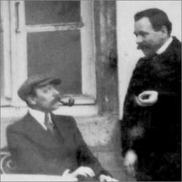 Jean Pouliquen et Pierre Quéméner vers 1916