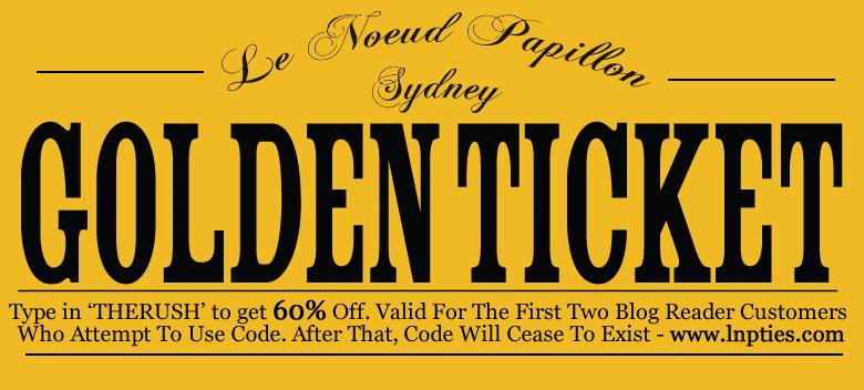 Editable Golden Ticket Template  40 ticket invitation