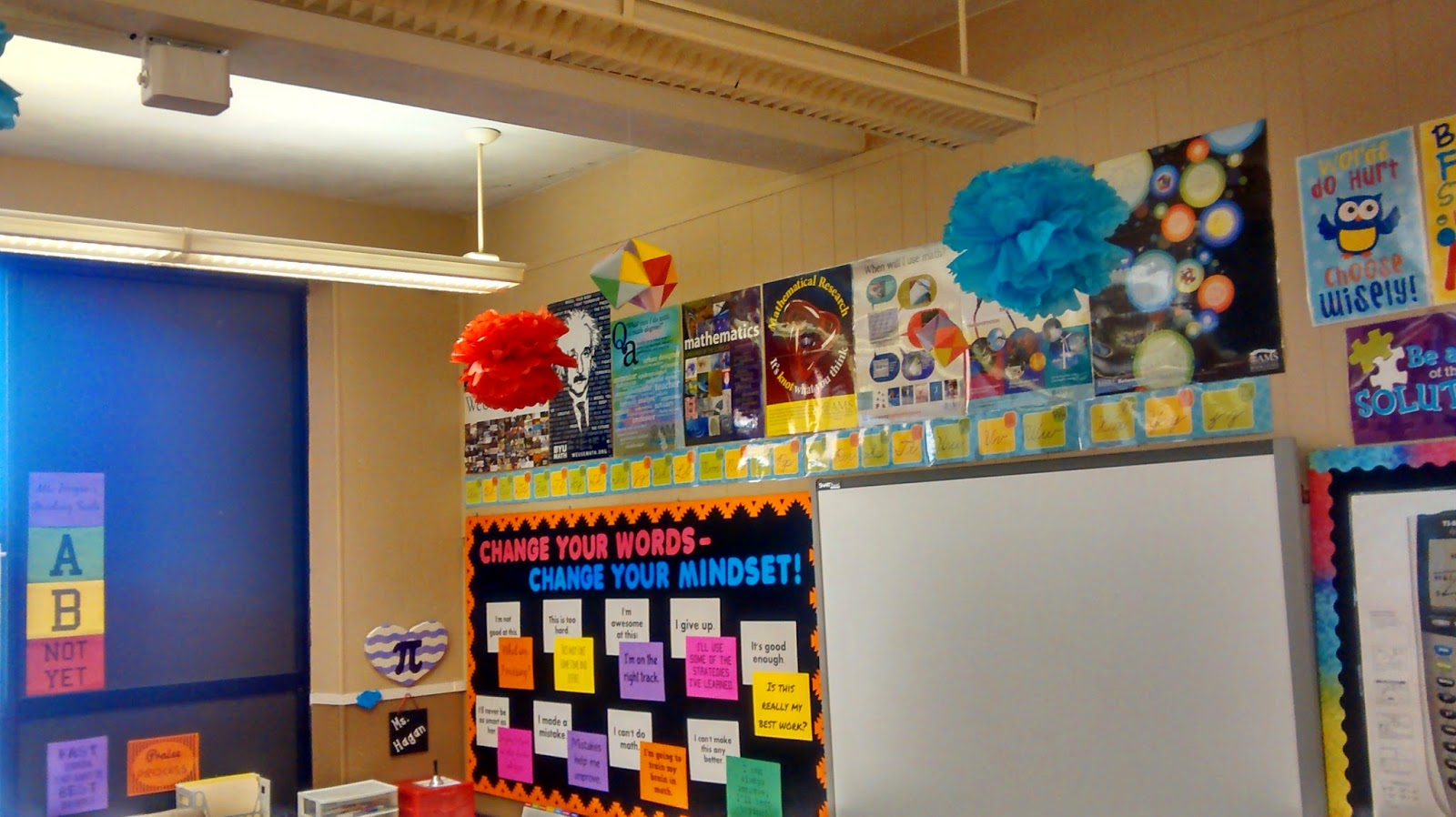 Math = Love: 2014-2015 Classroom Pics - My Most Colorful ...