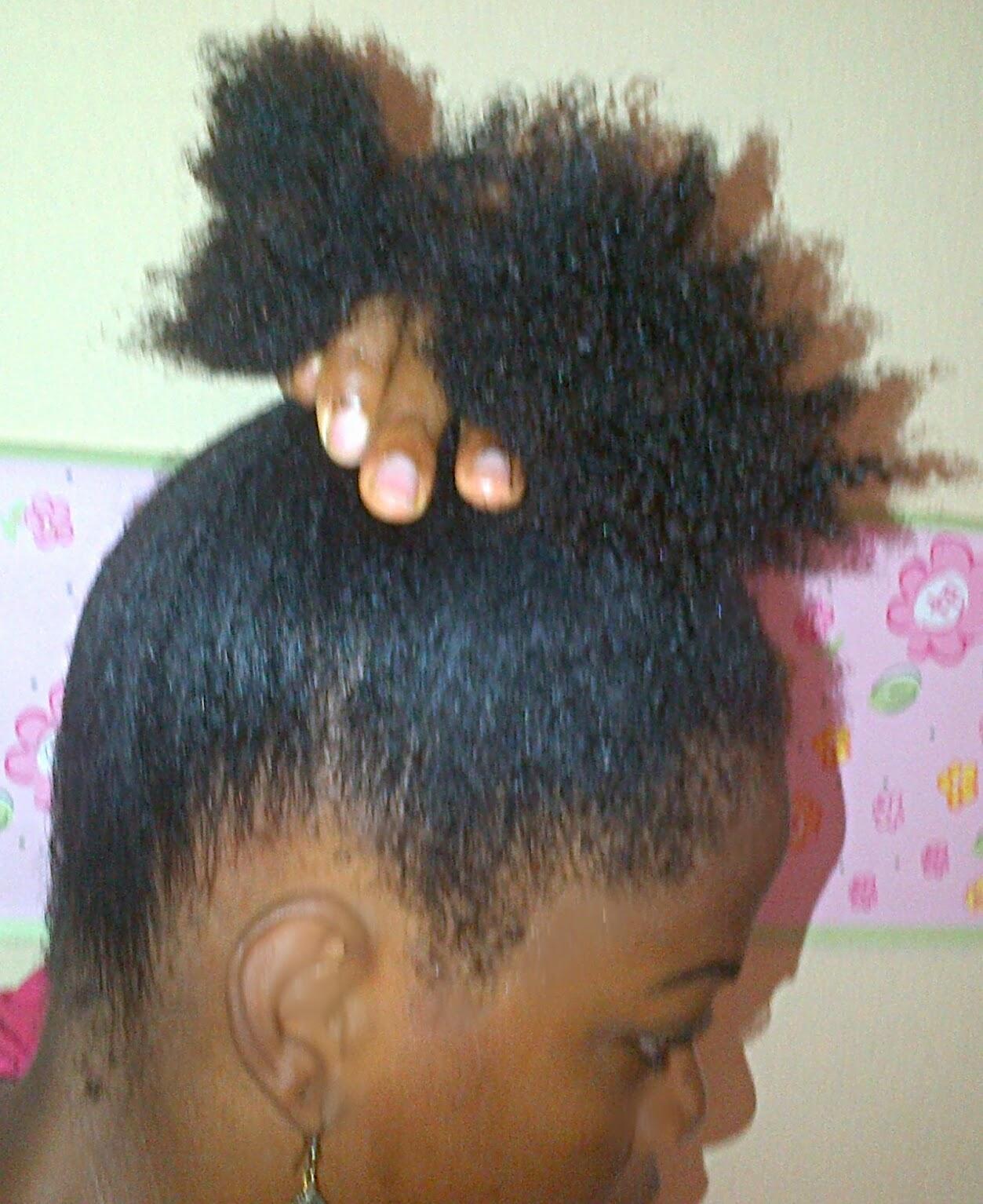Tremendous Darkchildlovethyhair How To Create A A Sleek Faux Bun With Short Short Hairstyles For Black Women Fulllsitofus
