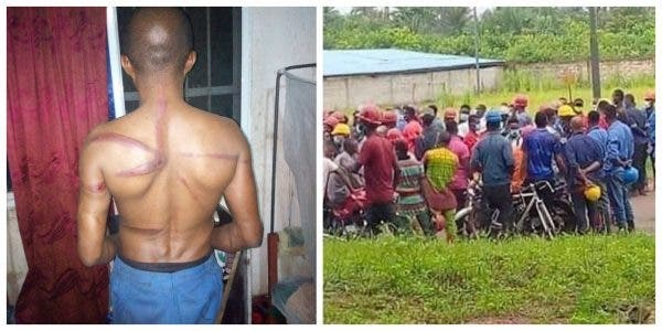 Exposed! Photos Of Chinese Company Where Nigerian Workers Are Allegedly Treated Like Slaves Uncovered In Abia State